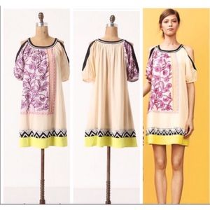 Leifnotes Anthropologie Brimming Borders Dress 12